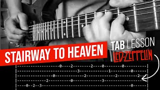 Stairway To Heaven Intro Guitar Lesson - Led Zeppelin (with tabs)