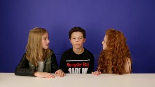 Say Anything Challenge (Ft. Hayden Summerall & Francesca Capaldi)