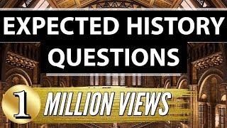 Most Important Indian History Questions -   SSC CGL + Railways + CHSL + UPSC + CLAT + CDS + NDA