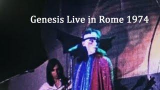 Genesis Live in Rome 1974 Rework   HD 720p