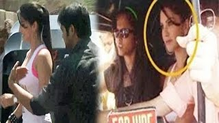Sunny Leone Molested by Public During Promotion of