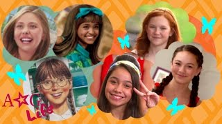 American Girl Doll Inspired Hairstyles + Lea Clark Preview | #TeamAGLife Ep. 31 | American Girl