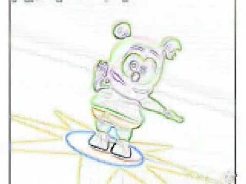 Gummy bear Reg Fast n Slow