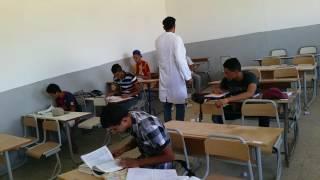 التلميذ في القسم التونسي. PART 1.شبعة ضحك..ههههههههه