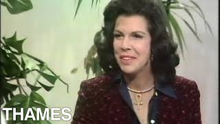Jacqueline Susann Interview   Best Selling Author   Good Afternoon   1973