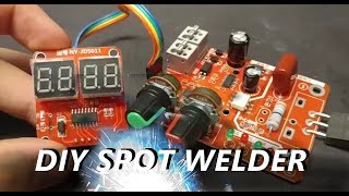 Another Aliexpress DIY Spot Welder Controller Review (Available)