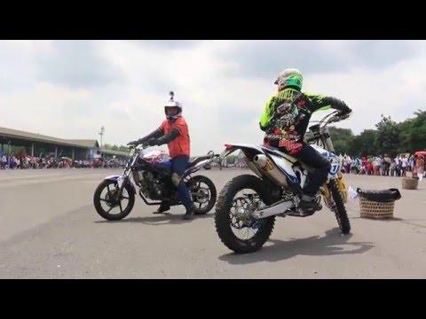 Freestyle motor rx king vs Satria 2 takVS Vario vs husqvarna Vs CBR 150