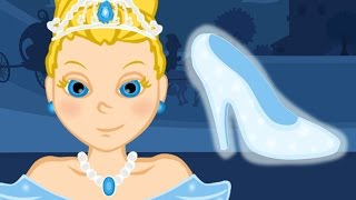 Cinderella - Cartoon fairy tales & bedtime stories for kids - American English