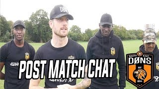 SE DONS POST MATCH CHAT: