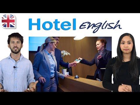 Hotel English Using Travel English at Hotels