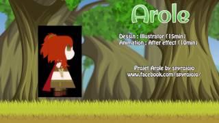 Animation d'un personnage (Samiel) - Arole
