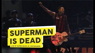 [HD] Superman Is Dead - Kuta Rock City (Live at Super Music.Id 2018, Yogyakarta)