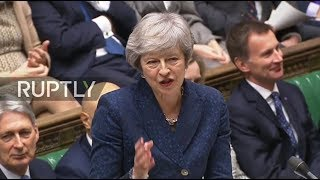 LIVE: May answers PMQs in the House of Commons