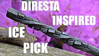 Blacksmithing - Diresta Inspired Cube Twist Ice pick