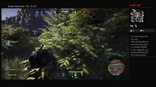 Transmissão ao vivo da PS4 de bala-no-viadao