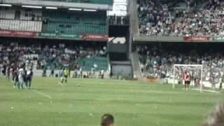 Gol Emana de penalty a lo panenka. Betis 4-0 Rayo