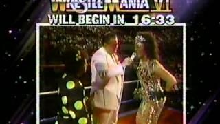 Wrestlemania VI Pre-Show