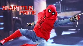 Hot Toys Spider-Man Homecoming Homemade Suit 1:6 Scale Marvel Movie Collectible Action Figure Reveal