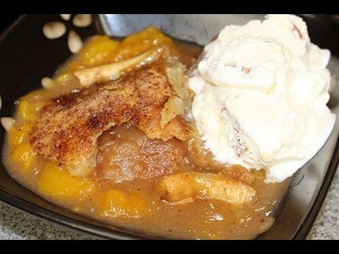 Xxx Mp4 How To Make Peach Cobbler With Canned Peaches And Pie Crust My Favorite 3gp Sex