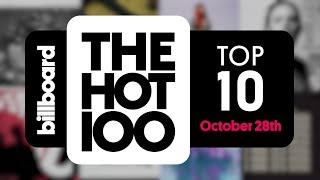 Early Release! Billboard Hot 100 Top 10 October 28th, 2017 Countdown   Official