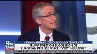 John Hannah on Trump