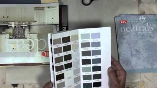 DIY Mixed Media Journal with Paint Swatch Books - Part 1