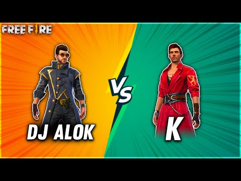 Dj Alok Vs K Best Clash Squad Battle Pc Vs Mobile Player 2 Vs 2 Who Will Win Garena Free Fire