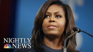 In New Memoir, Michelle Obama Takes On President Donald Trump   NBC Nightly News