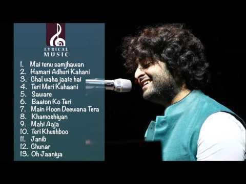 Best of Arijit singh 2016  latest arijit singh juke box   just listen the music pal