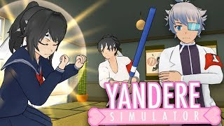 THE VOICE OF A THOUSAND ANGRY FIGHTERS GLITCH & THE CLUB MINIGAMES | Yandere Simulator
