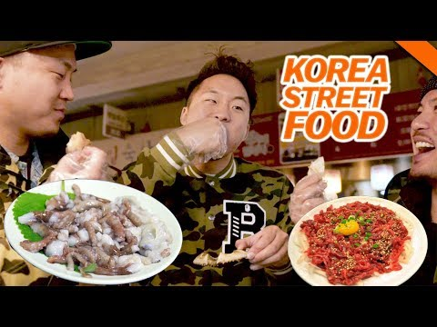 Xxx Mp4 KOREAN STREET FOOD YOU VE NEVER HAD Live Octopus Raw Beef Fung Bros Food 3gp Sex