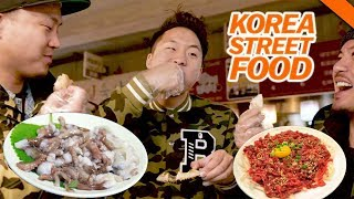 KOREAN STREET FOOD YOU'VE NEVER HAD IN SEOUL // Fung Bros 2017 World Tour