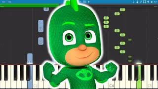 PJ Masks Song - Mighty Little Gecko - Piano Tutorial