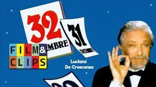 32 Dicembre di Luciano De Crescenzo   Pazzaglia e la teoria dei popoli fuochisti