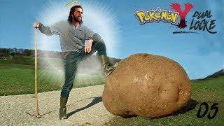 Pokémon Y DualLocke Ep.5 - EL DIOS POKÉMON QUE TODO EL MUNDO ESTABA ESPERANDO
