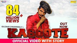 Kasoote | Gulzaar Chhaniwala| Latest Haryanvi Songs Haryanavi 2019| New Haryanvi Song 2019