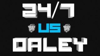 KOTD - Rap Battle - 24/7 vs Daley