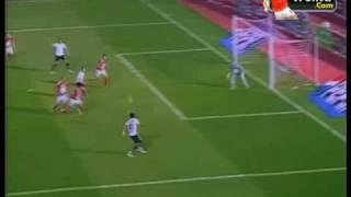 هدف احمد حسن مكي في مباراة السوبر الاهلي والحرس