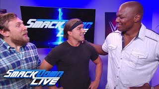 Shelton Benjamin returns to team up with Chad Gable: SmackDown LIVE, Aug. 22, 2017