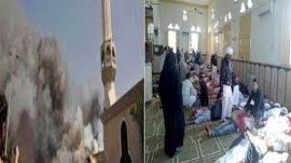 شاهد قبل الحذف تقرير قناه الكوفه عن حادث مسجد الروضه