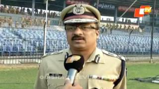 Barabati ODI: Security for teams beefed up in twin city