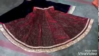 how to cut and stitch kali lehenga (कली का लेहेंगा कैसे बनाये? )