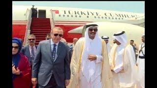 أردوغان يلتقي أمير قطر ...   على درب الوساطة الخليجية
