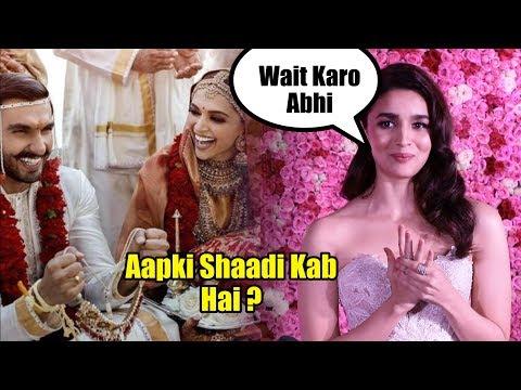 Xxx Mp4 Alia Bhatt Reply On Her Marriage Deepika Ranveer Priyanka Nick Jonas 3gp Sex