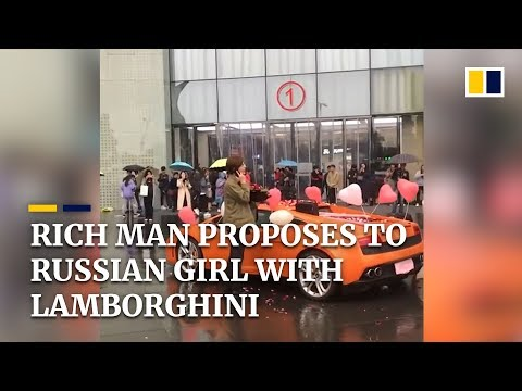Xxx Mp4 Rich Chinese Man Proposes With Lamborghini Rejected By Russian Girl 3gp Sex