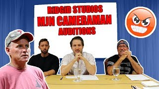 PSYCHO DAD CRASHES AUDITIONS!