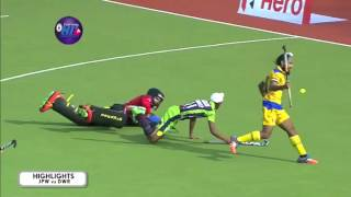 Jaypee Punjab vs Delhi Waveriders-Semi Final Highlights -Hockey India League 2016