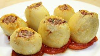 طريقة عمل محشي البطاطس باللحمة المفرومة - Stuffed Potato