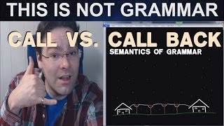 Call vs Call Back Telephone English Telephone Skills Telephone Conversation Lesson Customer Service