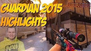 CS:GO - Best of GuardiaN 2015 (Best Frags, Flickshots, Inhuman reactions, ACEs, WTF?) Highlights